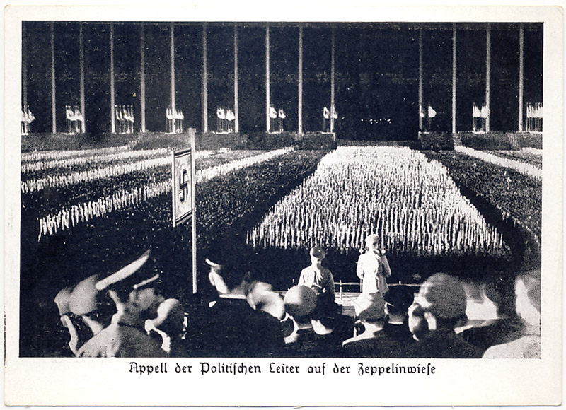 Reich Party Rally 1938. Roll-call Political leaders.