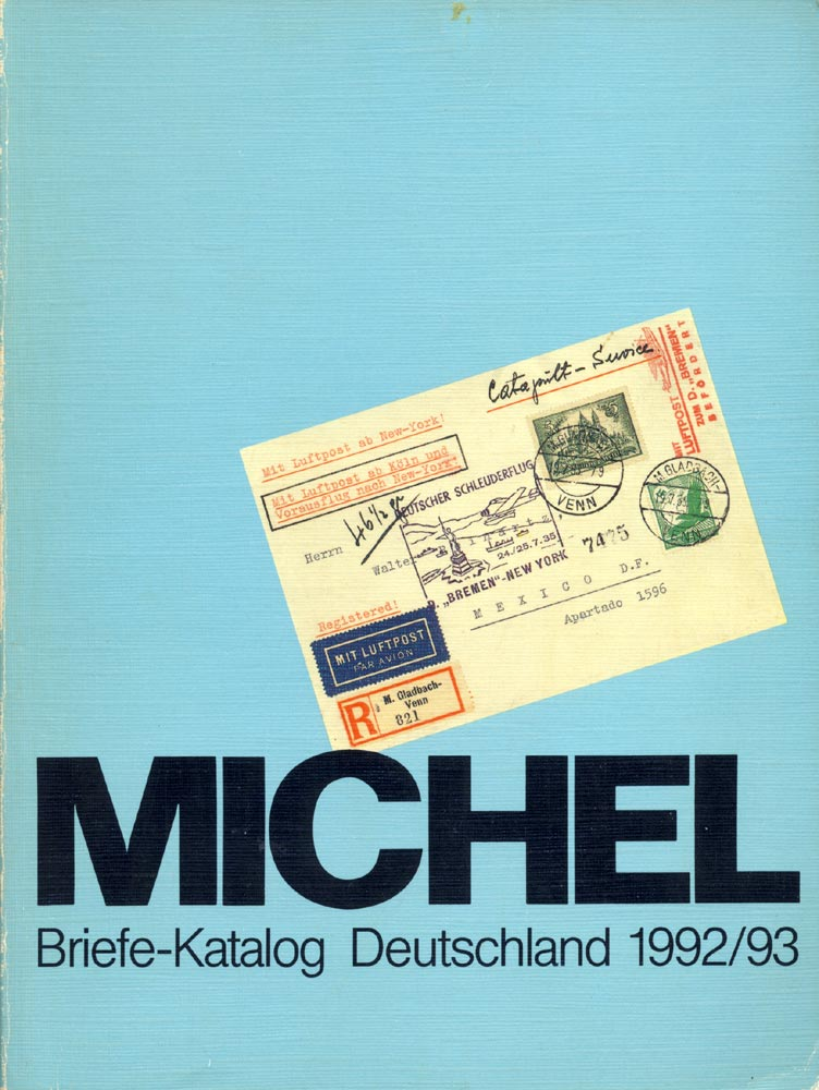 Michel Catalogue. Letter catalogue 1992/93.