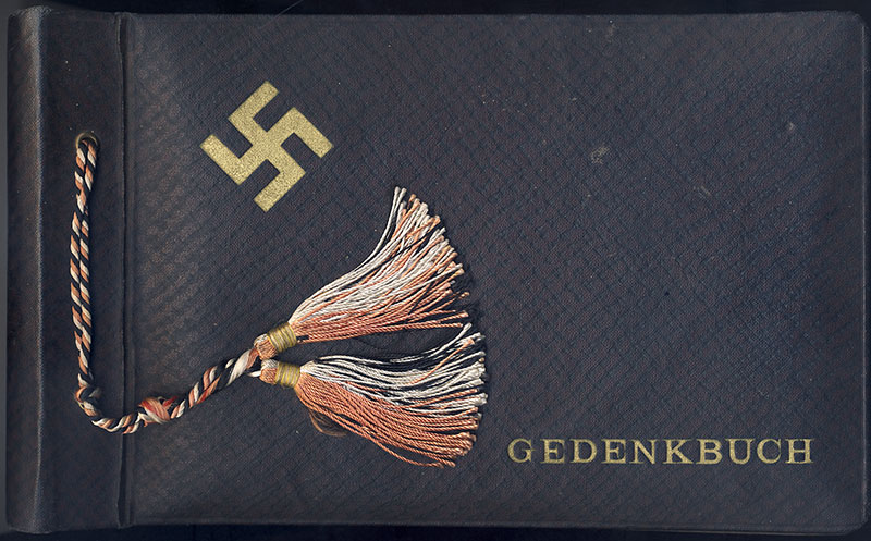 Adolf Hitler Photo Album (book of remembrance)