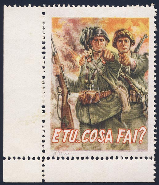 Italian Waffen-SS. ETU COSA FAI (AND WHAT DO YOU DO)