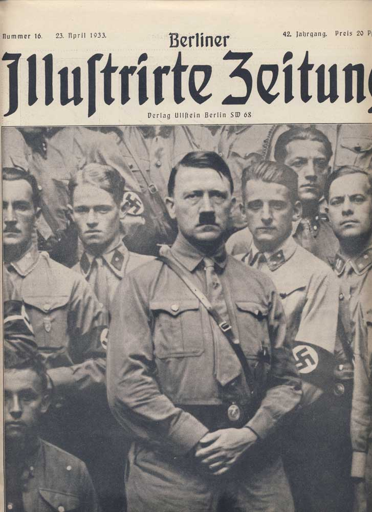 Berlin Illustrated Newspaper. No. 16, April 23rd 1933. Hitlers b