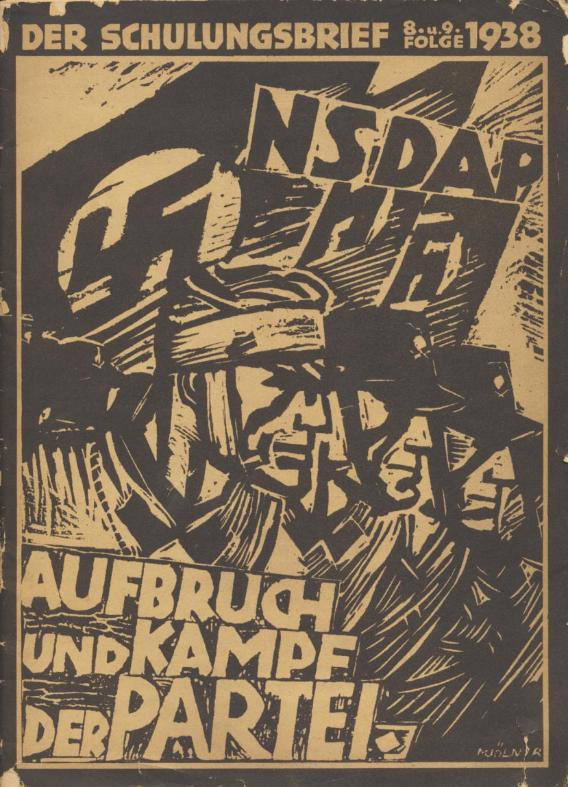 Magazine with a lot of NSDAP pictures. All Gau Leaders are shown