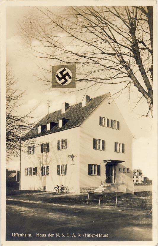 Uffenheim. House of the NSDAP (Hitler House)
