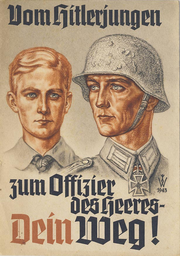 From Hitler Youth to the Army Officer. Your way!