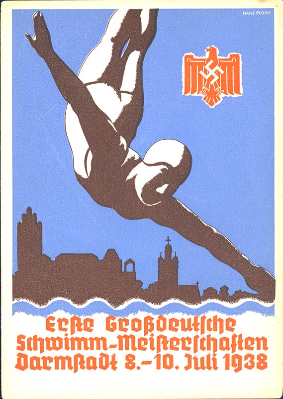 Great German Swimming Championships 1938