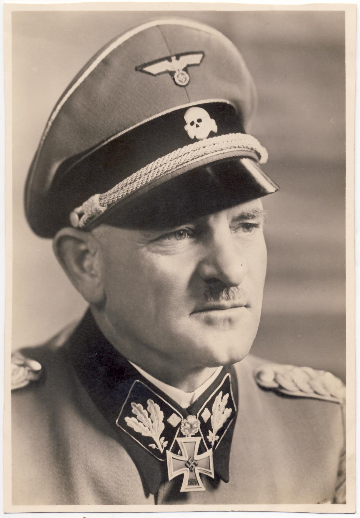SS-Obergruppenführer Sepp Dietrich. Read description.