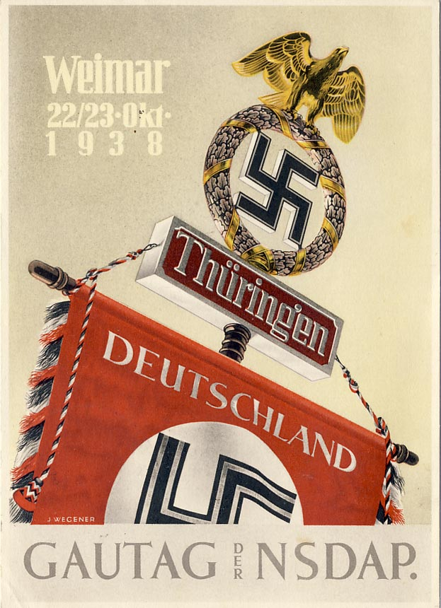 Gautag of the NSDAP. Weimar, Thüringen, October 193