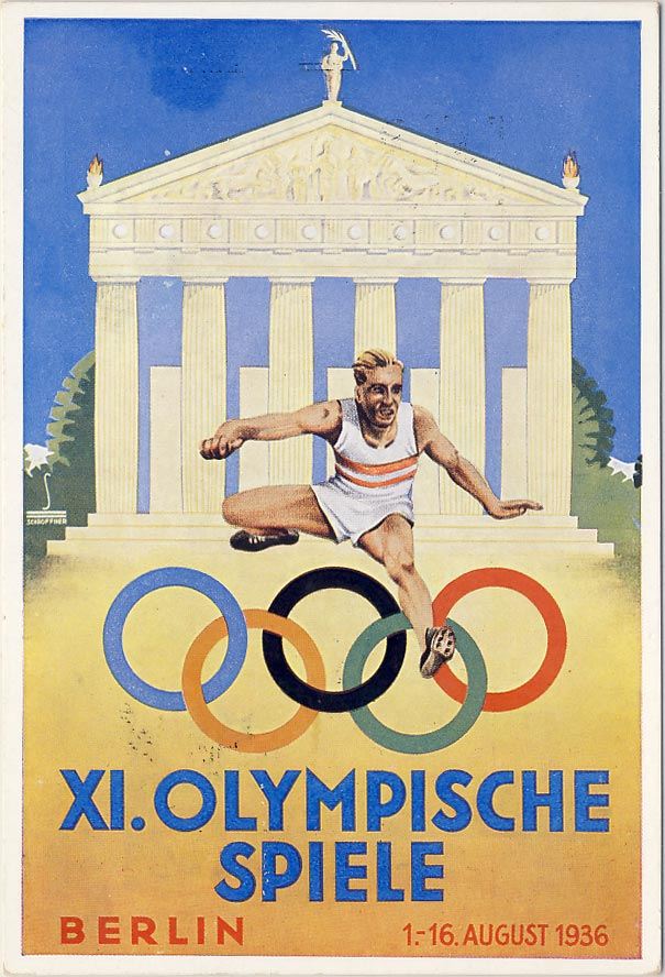 Olympic Games, Berlin, August 1936.