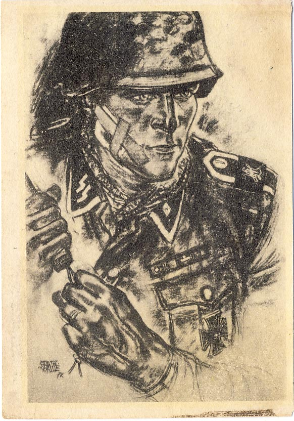 Group leader of the Waffen-SS.
